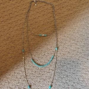 Lucky brand layering necklace